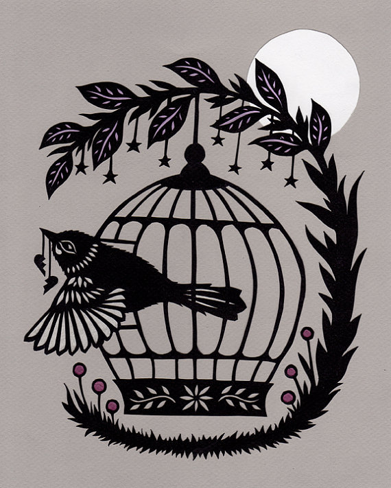 papercut by Angie Pickman
